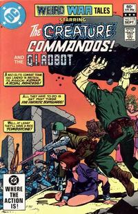 Cover for Weird War Tales (DC, 1971 series) #115 [Direct Sales]