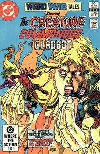 Cover Thumbnail for Weird War Tales (DC, 1971 series) #116 [Direct Sales]