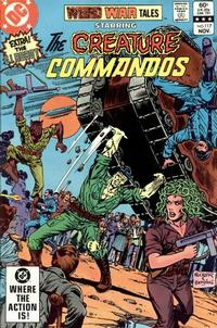 Cover for Weird War Tales (DC, 1971 series) #117 [Direct Sales]
