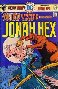 Cover Thumbnail for Weird Western Tales (DC, 1972 series) #32