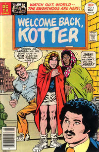 Cover for Welcome Back, Kotter (DC, 1976 series) #4