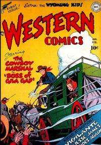Cover Thumbnail for Western Comics (DC, 1948 series) #1