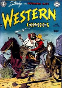 Cover Thumbnail for Western Comics (DC, 1948 series) #7