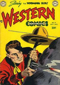 Cover Thumbnail for Western Comics (DC, 1948 series) #10