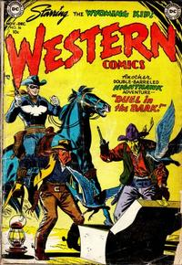 Cover Thumbnail for Western Comics (DC, 1948 series) #36