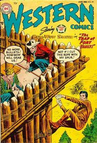 Cover Thumbnail for Western Comics (DC, 1948 series) #49