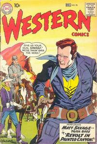 Cover Thumbnail for Western Comics (DC, 1948 series) #78