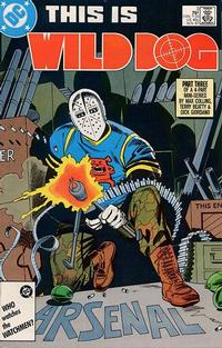 Cover Thumbnail for Wild Dog (DC, 1987 series) #3 [Direct Sales]
