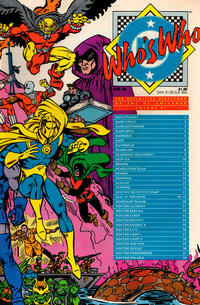 Cover Thumbnail for Who's Who: The Definitive Directory of the DC Universe (DC, 1985 series) #6 [Direct]