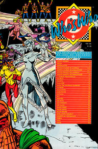 Cover Thumbnail for Who's Who: The Definitive Directory of the DC Universe (DC, 1985 series) #12 [Direct]