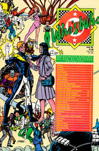 Cover Thumbnail for Who's Who: The Definitive Directory of the DC Universe (DC, 1985 series) #13 [Direct]