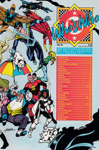 Cover Thumbnail for Who's Who: The Definitive Directory of the DC Universe (DC, 1985 series) #17 [Direct]