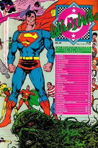 Cover Thumbnail for Who's Who: The Definitive Directory of the DC Universe (DC, 1985 series) #22 [Direct]
