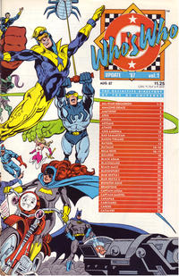 Cover Thumbnail for Who's Who: Update '87 (DC, 1987 series) #1