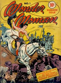 Cover Thumbnail for Wonder Woman (DC, 1942 series) #1
