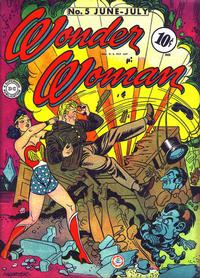 Cover Thumbnail for Wonder Woman (DC, 1942 series) #5