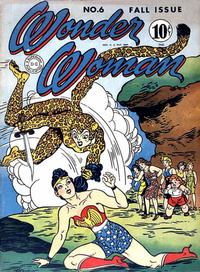Cover Thumbnail for Wonder Woman (DC, 1942 series) #6