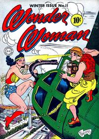 Cover Thumbnail for Wonder Woman (DC, 1942 series) #11