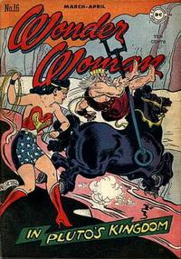 Cover Thumbnail for Wonder Woman (DC, 1942 series) #16