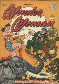 Cover for Wonder Woman (DC, 1942 series) #19