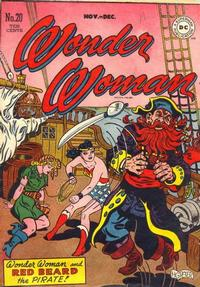 Cover Thumbnail for Wonder Woman (DC, 1942 series) #20