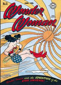 Cover Thumbnail for Wonder Woman (DC, 1942 series) #21