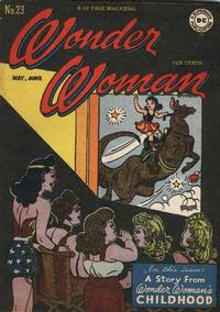 Cover Thumbnail for Wonder Woman (DC, 1942 series) #23