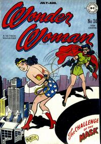 Cover Thumbnail for Wonder Woman (DC, 1942 series) #24