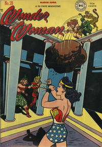 Cover Thumbnail for Wonder Woman (DC, 1942 series) #28