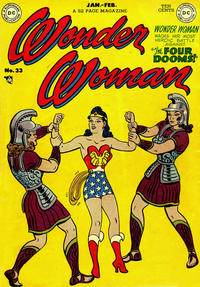 Cover Thumbnail for Wonder Woman (DC, 1942 series) #33