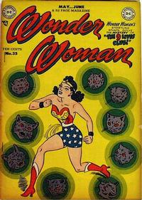 Cover Thumbnail for Wonder Woman (DC, 1942 series) #35