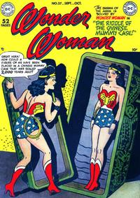 Cover Thumbnail for Wonder Woman (DC, 1942 series) #37