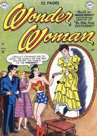 Cover Thumbnail for Wonder Woman (DC, 1942 series) #38
