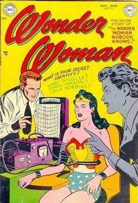Cover Thumbnail for Wonder Woman (DC, 1942 series) #53