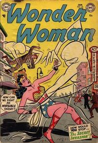 Cover Thumbnail for Wonder Woman (DC, 1942 series) #63