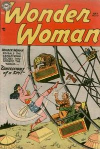 Cover Thumbnail for Wonder Woman (DC, 1942 series) #67