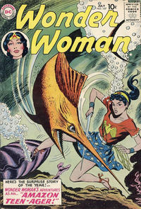 Cover Thumbnail for Wonder Woman (DC, 1942 series) #107