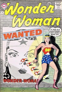 Cover for Wonder Woman (DC, 1942 series) #108