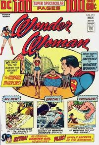 Cover Thumbnail for Wonder Woman (DC, 1942 series) #211