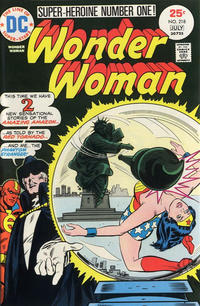 Cover Thumbnail for Wonder Woman (DC, 1942 series) #218