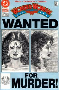 Cover Thumbnail for Wonder Woman (DC, 1987 series) #57 [Direct]
