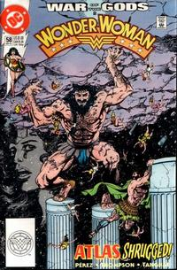 Cover Thumbnail for Wonder Woman (DC, 1987 series) #58 [Direct]