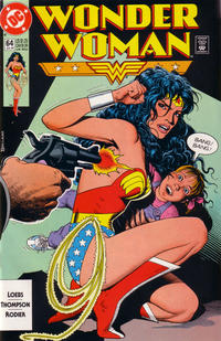 Cover Thumbnail for Wonder Woman (DC, 1987 series) #64 [Direct]