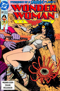 Cover Thumbnail for Wonder Woman (DC, 1987 series) #68 [Direct]