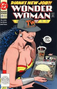 Cover Thumbnail for Wonder Woman (DC, 1987 series) #73 [Direct]