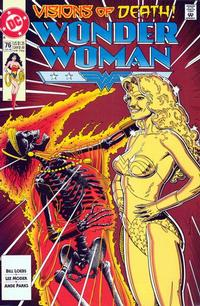 Cover Thumbnail for Wonder Woman (DC, 1987 series) #76 [Direct]