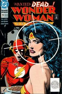 Cover for Wonder Woman (DC, 1987 series) #78