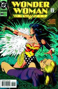 Cover Thumbnail for Wonder Woman (DC, 1987 series) #84 [Direct Sales]