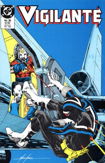 Cover for The Vigilante (DC, 1983 series) #36