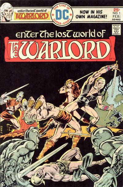 Cover for Warlord (DC, 1976 series) #1